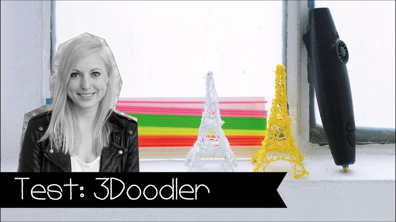diy 3doodler im test werkzeugtest 3d drucker youtube. Black Bedroom Furniture Sets. Home Design Ideas