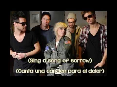 The Sounds - Painted by numbers (lyrics english/spanish)