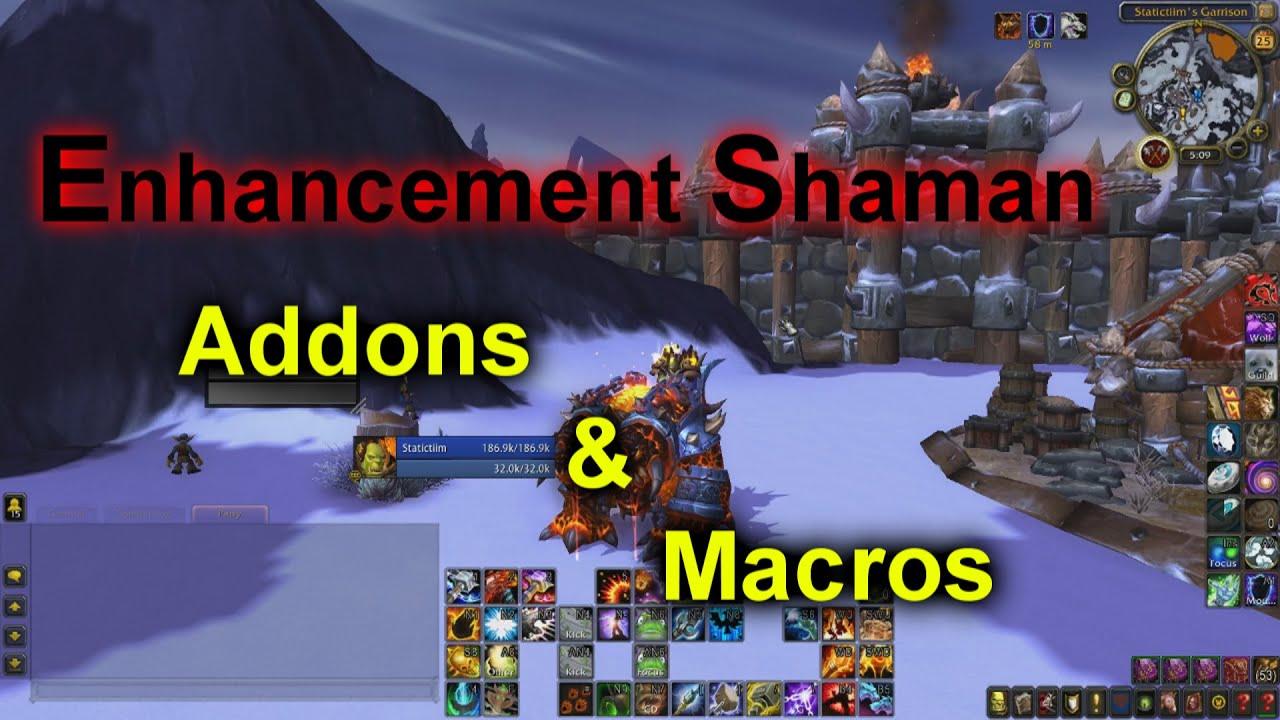 Enhancement Shaman Addons And Macros By Timtim