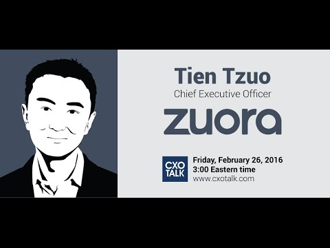 #158 Digital Transformation and the Subscription Economy with Tien Tzuo, CEO, Zuora