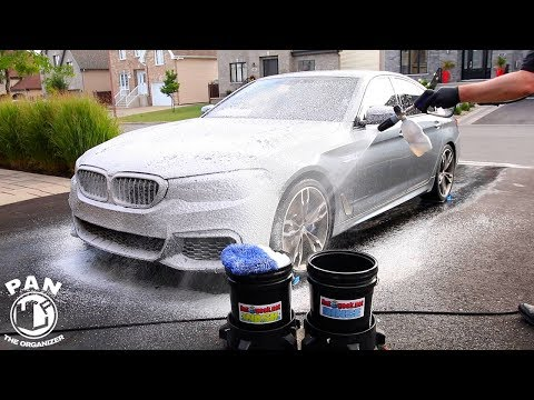 HOW I WASH MY OWN CAR !!!  (Regular Maintenance Wash)