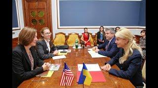 Юлия Светличная провела встречу с делегацией посольства США