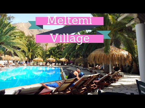 What Does The Meltemi Village In Perissa, Santorini Look like?
