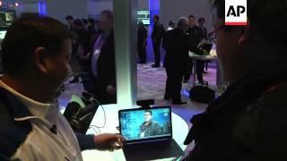 Intel debuts an interactive motion-sensing camera at the Consumer Electronics Show