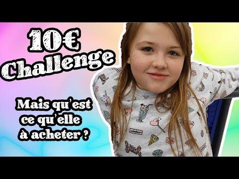 10 euros CHALLENGE 💶 qua-t-elle acheté  Studio Lucornah