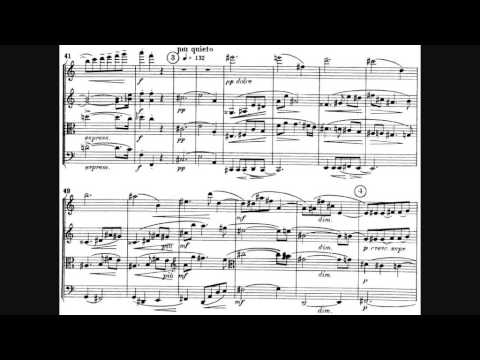 Béla Bartók - String Quartet No. 1