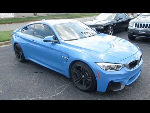 2015 BMW M4 Walkaround, Start up, Exhaust, Tour and Overview