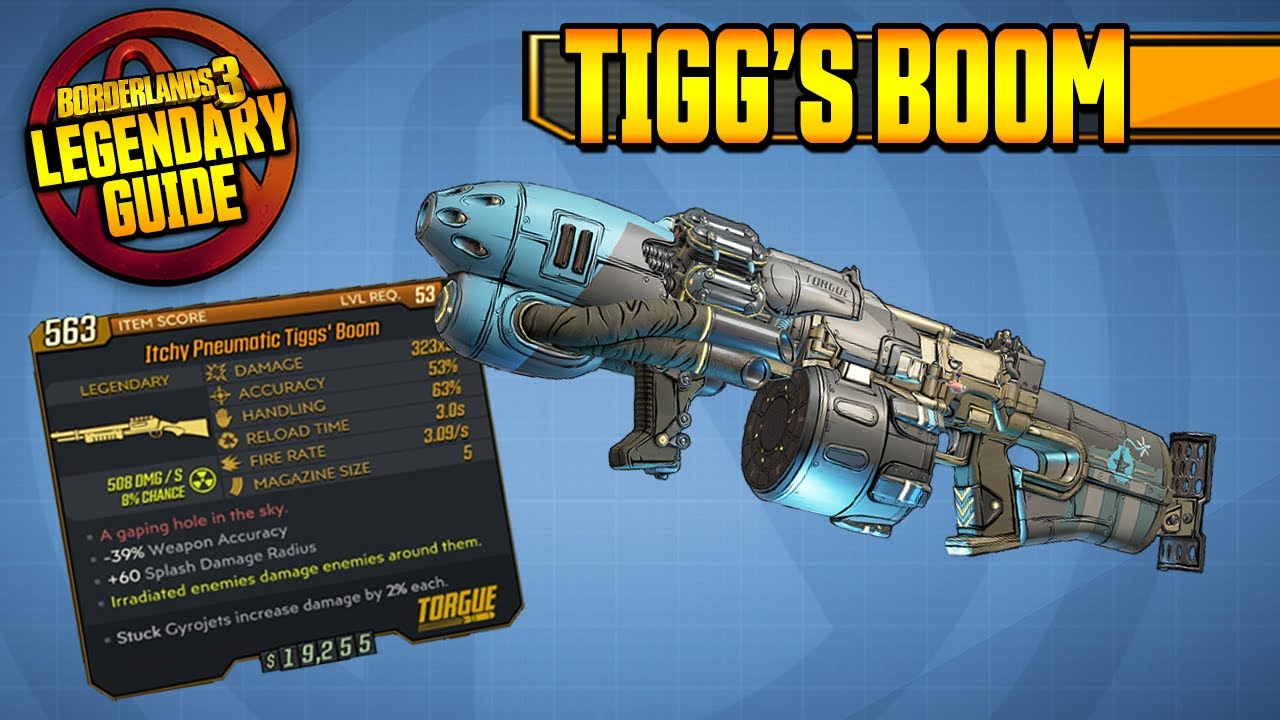 TORGUE-ASM?! | TIGG'S BOOM | Legendary Item Guide & Drop Location [Borderlands 3] thumbnail