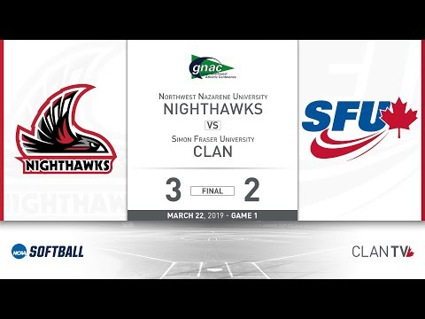 SFU Softball vs. NNU - March 22, 2019 (Game 1)