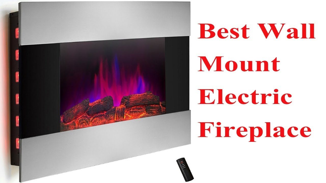 Best Wall Mount Electric Fireplace In 2018 Review