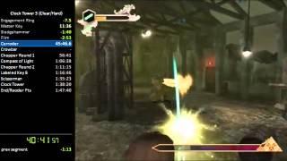 Clock Tower 3: Clear/Hard Mode Speedrun RTA  (1:40:10)