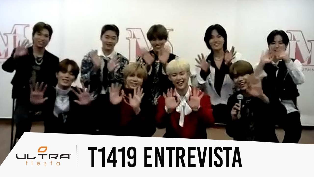 Entrevista con la banda de K-pop T1419: FLEX (Subtitulada en Español)
