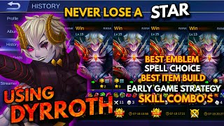 Скачать Dyrroth Proper Guide Game Strategy Skill Combo S Best Build Best Spell Never Lose A Star 2