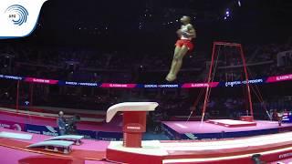 Donell OSBOURNE (GBR) - 2018 Artistic Gymnastics Europeans, junior vault final