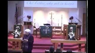01-18-2015.wmv - Gloria Dei Lutheran Church Sermon - Pastor Vicki Garber
