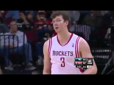 NBA January 2 2013: New Orleans Hornets vs Houston Rockets Highlights