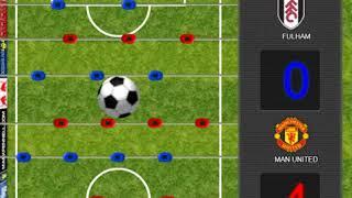 Premier League Foosball game - Manchester Utd