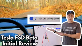 Tesla Full Self Driving Beta Tackles Dirt Roads and More! | 2020.44.10.2 | BIGGER Autopilot Visuals