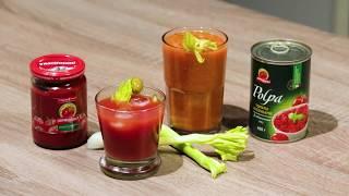 Напитки из томатов от «Помидорки»