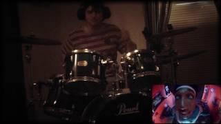 hopsin ill mind of hopsin 4 drum cover by kris beeler