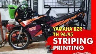 yamaha rzr 135 original striping