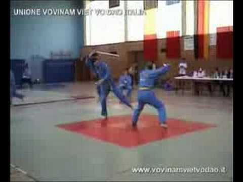 Vovinam, 2004 Championship in Frankfurt - Song Luyen Kiem