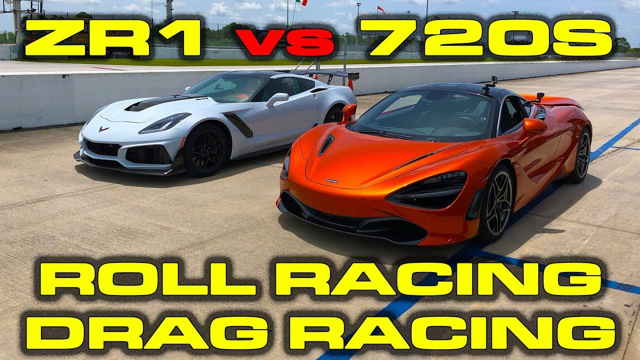 2019 755 Hp Chevrolet Corvette Zr1 1 4 Mile And Roll Racing Vs 710