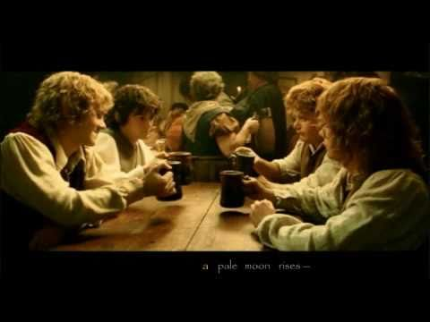 """The Lord of the Rings """"Into The West"""" (karaoke singalong)"""