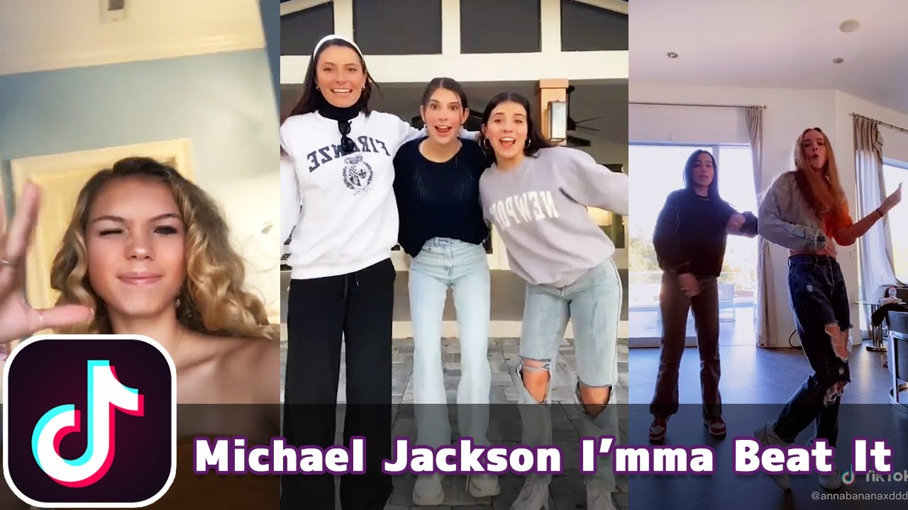 Michael Jackson Imma Beat It (Best Ever - Polo Frost) | TikTok Compilation
