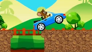 Tom and Jerry| Tom Hill Climb Driving| ム・ドライビング・カー| 톰 운전 자동차|Kids Gaming Shows   TV