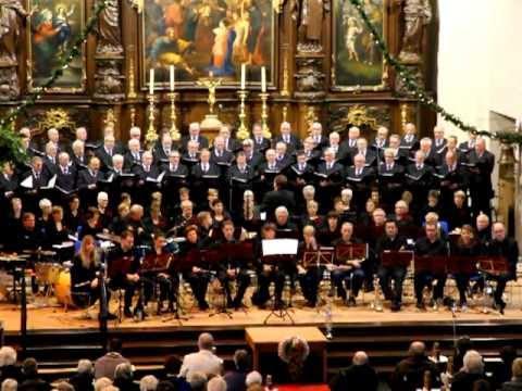Stille Nacht - Kerstconcert Someren 2012 - Mannenkoor de Nachtegaal