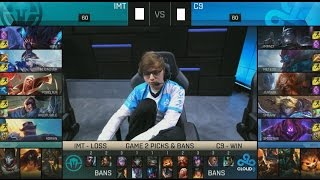 IMT (Huni Yasuo) VS C9 (Impact Shen) Game 3 Highlights - 2016 NA Regional Qualifier