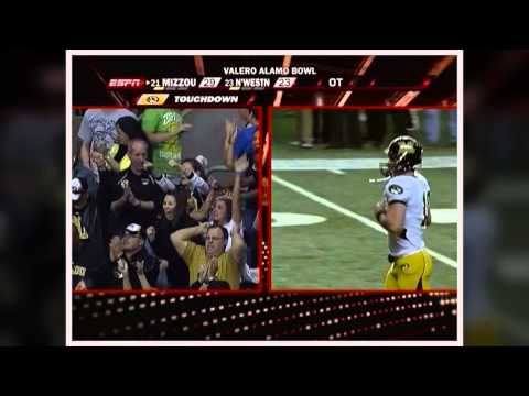Valero Alamo Bowl Top 20 Plays - Chase Daniel to Jeremy Maclin (2008)