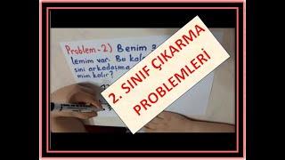 2  SINIF ÇIKARMA PROBLEMLERİ 1