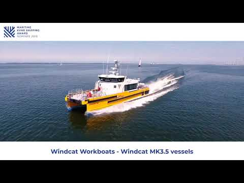 Maritime KVNR Shipping Award 2018: Windcat Workboats