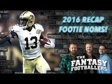 Fantasy Football 2016 - The Footies: 2016 Awards Nominations, Studs, Rising Stars- Ep. #336