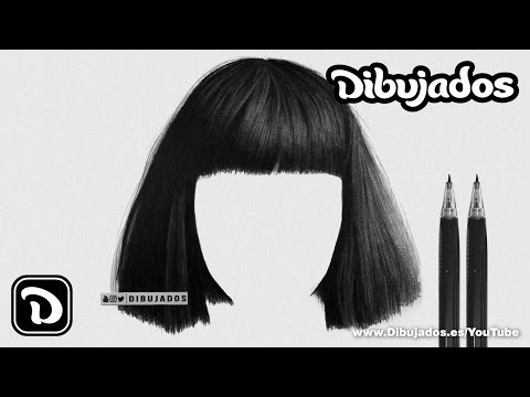 How To Draw Realistic Hair - 3 Easy Steps - Dibujados