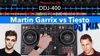 Martin Garrix vs Tiesto DJ Mix - Pioneer DDJ 400 - #SundayDJSkills