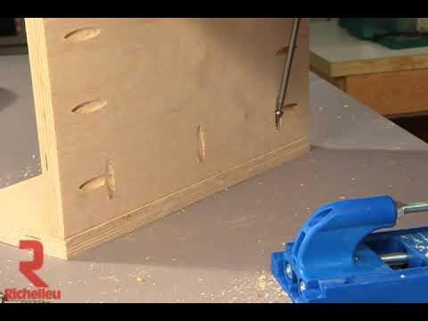 Richelieu Hardware Kreg Pocket Hole Jig Build Faster