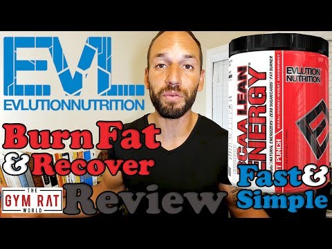 BCAA Lean Energy Supplement | Evlution Nutrition EVL |  Supplement Review