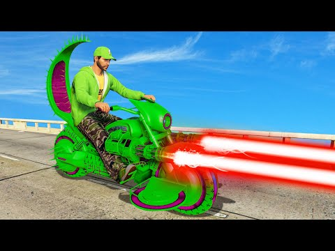 NEW $4,500,000 LASER BEAM BIKE! (GTA 5 DLC)