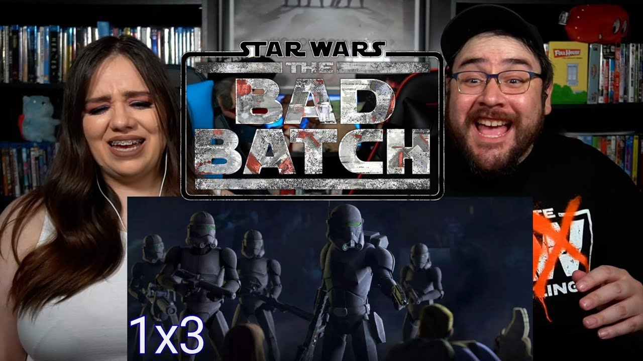 STAR WARS The Bad Batch REPLACEMENTS - Episode 3 Reaction / Review