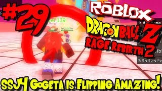 SSJ4 GOGETA IS FREAKING AMAZING! | Roblox: Dragon Ball Rage Rebirth 2 - Episode 29