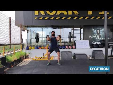 Front Squat Fitness Tutorial thumbnail