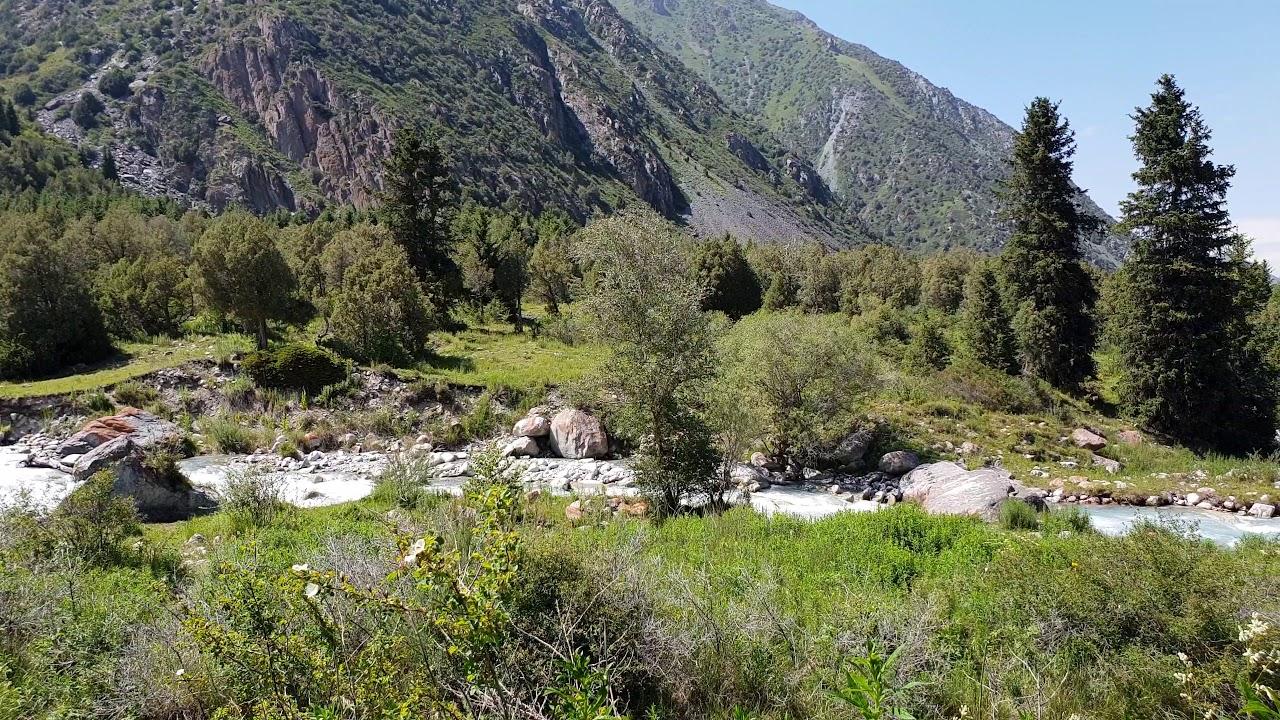 جمال الطبيعة في قرغيزستان بجودة 4k - YouTube