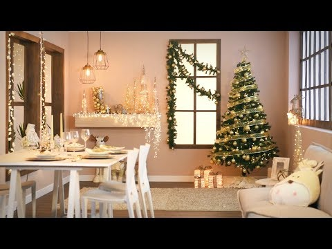 3 estilos para decorar tu casa esta navidad youtube - Decorar una casa en navidad ...