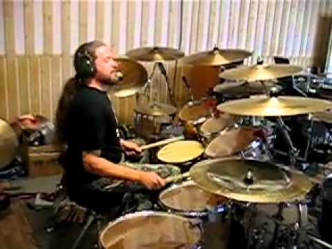 Tomas Haake - The Mouth Licking What You've Bled outro in Studio