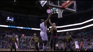 Kemba Walker Behind The Back Dribble to the Spinning Layup