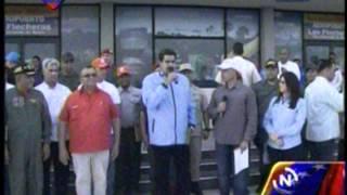 Presidente inaugura ruta de Conviasa a Maiquetía-San Fernando de Apure
