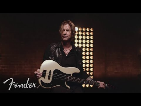 Duff McKagan Plays His Fender Signature Deluxe Precision® Bass | Signature Artist Series | Fender